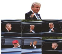 25 * 32 cm Trump 2024 Araba Sticker Afiş ABD Başkanlık Seçimi PVC Arabalar Pencere Çıkartmaları