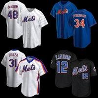 12 Francisco Lindor 20 Pete Alonso Jersey de baseball Hommes Femmes Jacob Dusgom X7 Keith Hernandez Mike Piazza Jeff McNeil NouveauYorkMalaise