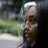 Kenbo eyewear Transparent Plastic Face Shield Glass Anti Fog Clear Face Shield Mask Sunglass