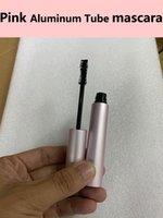 أسود ماسكارا أنبوب الألومنيوم الوردي 8ML طويلة الأمد يسلي تطول سميكة