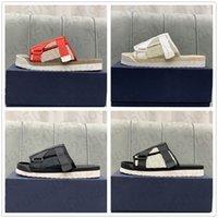 Zapatos de caminata oblicua Bordado EVA TRP TRP extraíble Suela extraíble Slippers Respire libremente blanco negro tamaño rojo 38-44 #