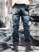 2021 Erkek Kot Klasik Moda Marka Hip-Hop Denim Pantolon Yaz Yüksek Kalite YKK Fermuar Yüksek Yıkama Kumaş Yumuşak Elastik Mektubu Amblem Nakış Pantolon