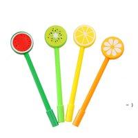 الفاكهة الخضار شكل حبر جافت الأقلام الإبداعية هلام الكرتون حنفاس القلم BWA5223