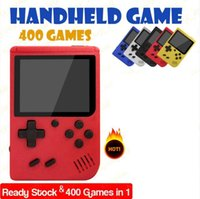 400 IN 1 Retro Video Game Console Handheld Game Portable Pocket Game Console Mini Handheld Player For Kids Gift