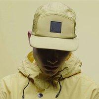 2021 New Fashion topStone Cap Metal Nylon Waterproof Baseball Cap neIsland Sunshade Sun Hat Men's and Women's Hat