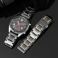 Watch Bands For Samsung Galaxy Watch4 44 40mm Classic 46mm Active 2 Gear S3 Frontier Strap Huawei GT2 Ceramic 20mm 22mm Band
