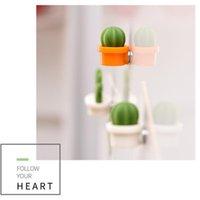 Adesivos De Parede Cute Verde Cacto Ímã De Refrigerador Etiqueta De Geladeira Mensagem Magnética Geladeira Criativa Crianças Crianças Brinquedo N50