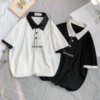 T Shirt Summer T-Shirt T-shirt da uomo Polo Top Casual Slim Mezza manica alla moda