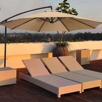 Shade Waterproof Outdoor Umbrella Sunshade Sail Oxford Cloth Fabric Parasol Banana Cantilever Garden Patio Shield Rain Cover