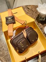 OntheGo Felicie Pochette Bolsas de Ombro Trio Designers Bolsas Womens Messenger Sacola de Compras Crossbody Luxurys Handbags