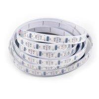 스트립 50M LPD8806 SMD RGB 디지털 주소 지정 드림 풀 컬러 픽셀 LED 스트립 라이트 48leds / M IP67 튜브 방수 화이트 PCB DC5V