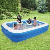 ABD Stok Şişme Yüzme Havuzu Aksesuarları Yetişkinler Çocuklar Banyo Küvet Açık Kapalı Ev Ev Bebek Aşınmaya Dayanıklı Duvar Kalınlığı 0.3mm