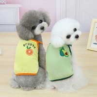 Fruit pattern Pet Dog Summer vest tank tops Cute Puppy Coat Jacket Outfit Dogs Apparel Clothes will and sandy