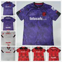 México 2021 Deportivo Futebol Jerseys Toluca Home 3Rd 20 21 Camisa de Futebol S-3XL