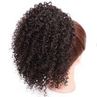 Afrikanische Perücke Europäische und amerikanische Stil Perücke Wunens Haarknospen Kleine lockige Hair Tasche Außenhandel Kinkycurly Curly Bun Caterpillar