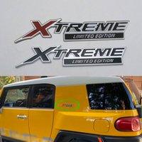 For Toyota FJ Cruiser XTREME Limited Edition Emblem Side Fender Rear Trunk Logo Sticker Badge Symbol Car Decal