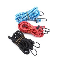 Tools Elastic Bungee Cord Hooks Bikes Rope Tie Bicycle Luggage Roof Rack Strap Fixed Band Hook Elastics Rubber