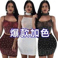 Przypadkowe sukienki damskie kobiece damskie sukienka party boho maxi szata wieczór sexy lato plaża sundress floral halter długi suknia vestidos damski fl