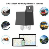 Car GPS & Accessories Mini Relay Tracker Device Tracking GSM Locator Remote Control Anti-theft Monitoring Cut Off Oil Power System