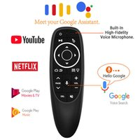 G10S Pro Voice Control Air Mouse with Gyro Sensing Mini Wireless Smart Remote Backlit for Android TV Box PC H96 Max