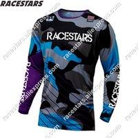 Новые трикотажки Enduro 2020 гонки Motocross BMX велосипед MX Cycting MTB Moto рубашка MTB летняя команда Camiseta DH Larga Downhill одежда X0503