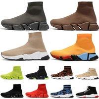 sock shoes  Acquista scarpe sportive calzino di design speed luxury womens mens scarpe casual tripler étoile vintage sneakers calze stivali platform trainer