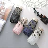 Umbrellas 5 Fold Flat Handle Umbrella Sunny And Rainy Kids Women Mini Gifts