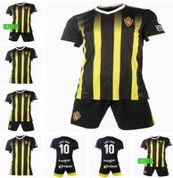 Mann Kids Kit 21 22 Echte Zaragoza Fußballtrikots 2021 2022 Shinji Kagawa Andre Pereira Alberto Camisetas de Futbol Set Football Hemden