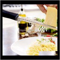 Другие кухонные ножи аксессуары для аксессуаров кухня, обеденный бар дома сад доставка 2021 ручной самолет нож цитрусовой лимона Zester Great