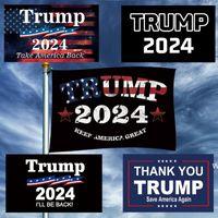 3X5FT Donald Trump 2024 Flagge Save America wieder Präsidentschaftswahlen machen Amerika toll wieder dhf6742