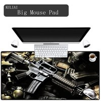 Mouse Pads & Wrist Rests XGZ Ar15 Gun Gaming Keyboard Pad Player Rubber Games To Office Family Desk Gift Game Mats
