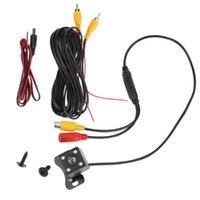 Araba Dikiz Kameralar Park Sensörleri Dikiz Ters Revering Kamera CCD + 4LED Yedekleme 170 Derece