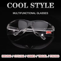 Outdoor Eyewear Dazzle Color Labor Protection Goggles Anti Splash Windproof Electric Welding Spatter Impact Protective Sunglasses For Men Wo