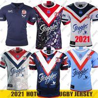 2021 Australie Sydney Cooster Rugby Jersey Mens Replica Jersey Indigenous Rugby Jersey Jerseys S-5