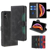 Premium Cüzdan PU Deri Kickstand Kart Yuvası Cep Telefonu Kılıfları iPhone 12 11 Pro Max XR XS X 8 7 6 Samsung S21 S20 Note20 Artı Ultra A72 A52 A42 A32 A12 A71 A51 LG kadife