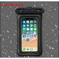 Seller Waterproof Water Proof Bag 9 Color Diving Swimming Case Cover Universal Cell Phone Cases For Ip 7 8 Samsung Ej4Oc Gqcrs