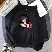 Women's Hoodies & Sweatshirts Japanese Anime Bungou Stray Dog Hoodie Harajuku Funny Gwangjin Yanagami Print Clothing Winter Plush Unisex Ove