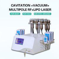 40k Ultrasonic liposuction Cavitation Slimming Machine 8 Pads Lipo Laser Vacuum RF Skin Care Fat Loss