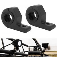 1 Pair 1.25 Inch 30MM Car Off-road Motorcycle Spotlight Fog Light Mount Brackets Universal Motorcycle Accessories