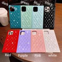 Comincan Shiny Bling Diamond Glitter Cases For iPhone 13pro 12 mini 11 Pro X XS MAX XR 7 8 Plus Rhinestone Soft TPU Back Cover phone protector