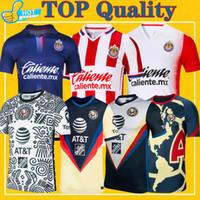 Club America Soccer Jersey 2021 Guadalajara Chivas 20 21 Домашний домой Выезд Третий Лига MX Предварительная футбольная футболка