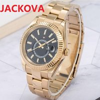 5A Quality Mens Watches Middler Dial Moving factory men automatic mechanical watch 904L stainless steel waterproof wristwatch montre de luxe