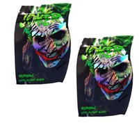 Empty Joker Edibles Mylar Bag Package Gummies Baggie Smellproof Dust proof Retail Pouch for Dry Herb Storage