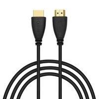 Conectores de cables de audio 5 M al por mayor 500 unids / lote masculino-macho Cable2.01.4v para HDTV Xbox PS3 4K TV HD Android Cabo 2M video