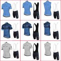 Verão Strava equipe ciclismo jersey bib shorts conjuntos de esportes uniforme respirável bicicleta racing roupas bicicleta sportswear y21040806