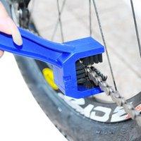 البلاستيك الدراجات دراجة دراجة سلسلة فرشاة نظيفة أسود أحمر أزرق والعتاد الجرونج فرشاة نظافة نظافة الهواء أدوات الغسيل