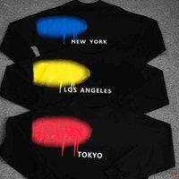 Yaz Moda Erkek Bayan Tasarımcılar T Shirt Uzun Kollu Palms Lüks Lüks Mektup Tişörtleri Giyim Kısa Kollu Tişört Tees Tops