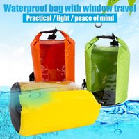 Water Bottle Ly 8L Waterproof Storage Bag Transparent Clothes For Outdoor Drifting BFE88
