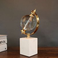 Marble Creative Gifts Crystal Ball, the Best of Luck Ornaments Office Study Porch Ktv Globe Decoration