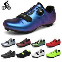 Ciclismo Sapatos Road Bicicleta Borracha Bottura Difícil MTB SPD Coloque Bicicleta Flat Mulheres Ciclismo Sneakers Homens Sneakers 210702